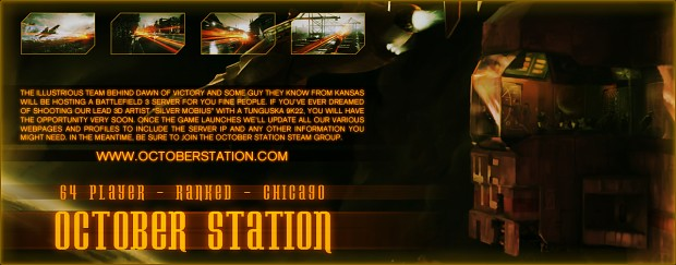 October Station - Battlefield 3 Server