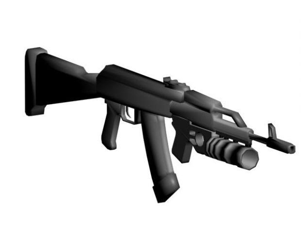 AK-74 Assault Rifle with grenade launcher