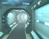 Curved Corridor Test 1