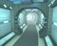 Curved Corridor Test 3