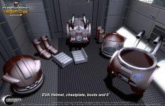 EVA Space Suit Components