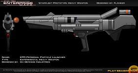 KPR Personal Photon Particle Launcher