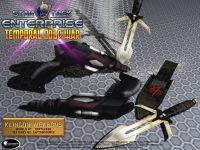 Klingon Disruptors and D'K Tahgs