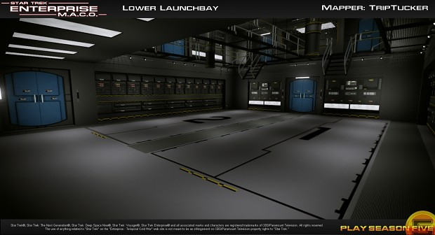 Launch Bay - Lower Level