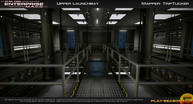 Launch Bay - Top level