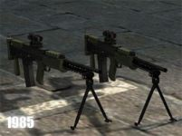 L86a1 Light Support Weapon