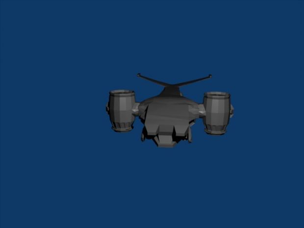 Hunter Killer air unit render