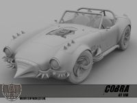 Cobra high poly vehicle render 2