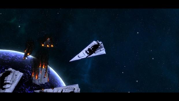 Star Destroyer Death Clone