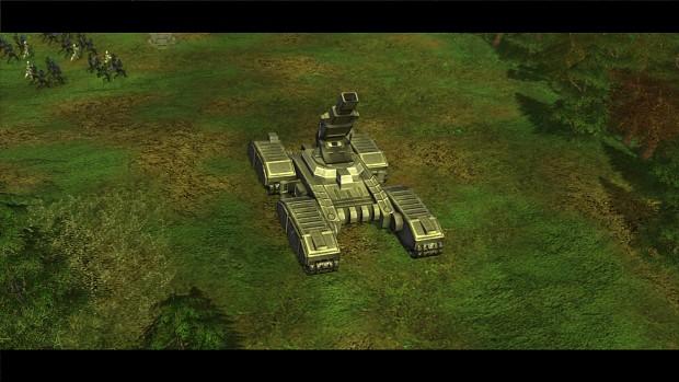 Mortar Tank Ingame