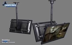 TV rack model
