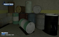Barrels in-game