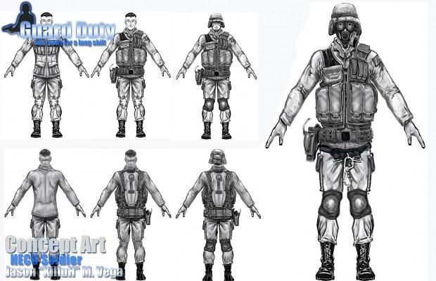 HECU soldiers