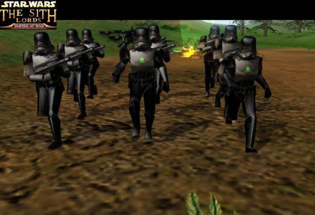 Sahdow Trooper Beta-pre saber, pre model