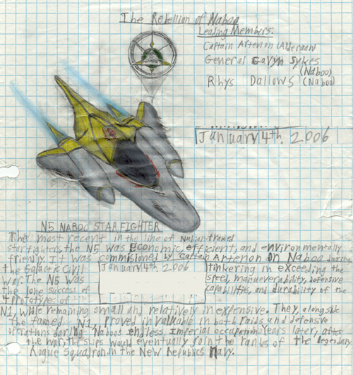N5 Heavy Star fighter concept art