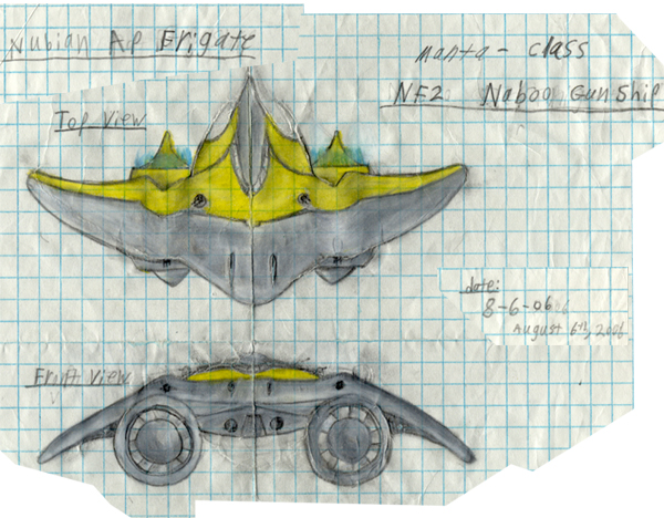 The NF2 Manta-Class Naboo Gunship
