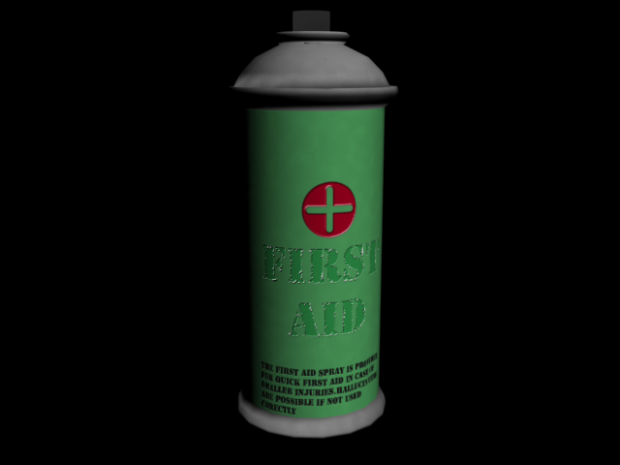 First Aid Spray -wip-