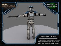Clone Trooper - 501'st Back