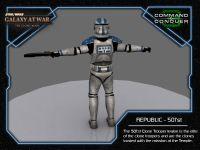 Clone Trooper - 501'st Back