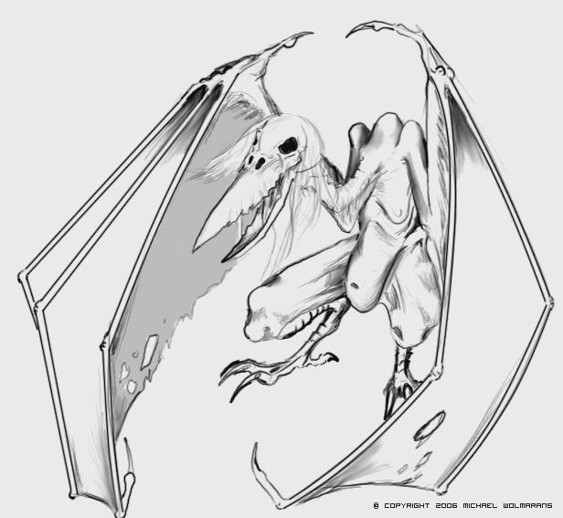 Death Wyvern Concept