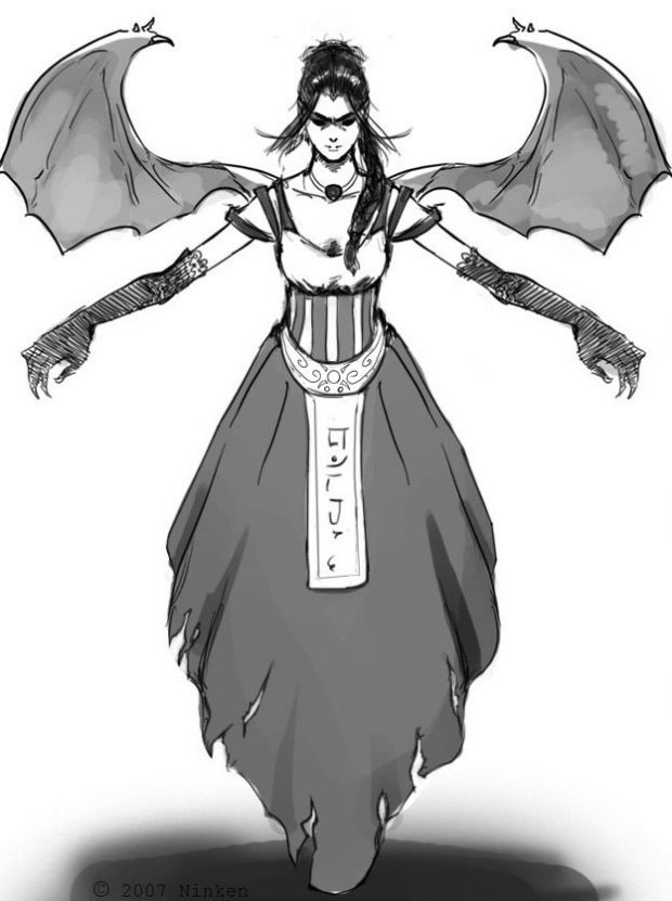 Fallen Angel Concept