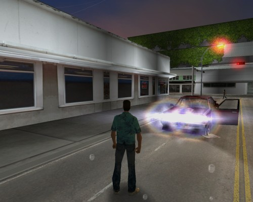 Real light from headlights auto (Version 1.0)