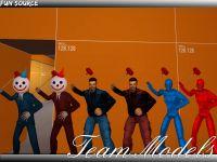 Colored Team Models