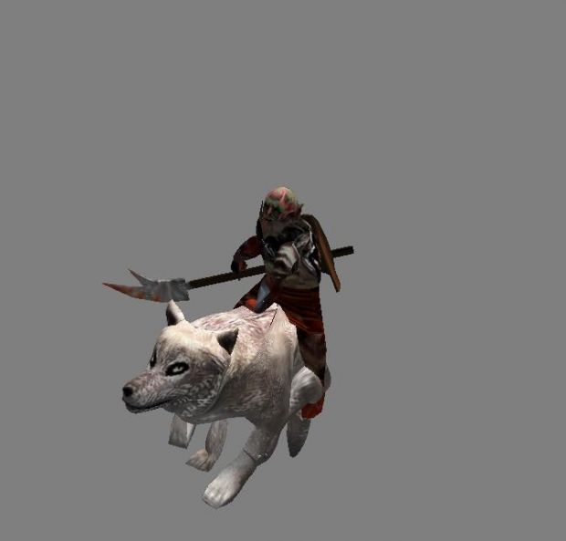 Mordor Wolf Rider
