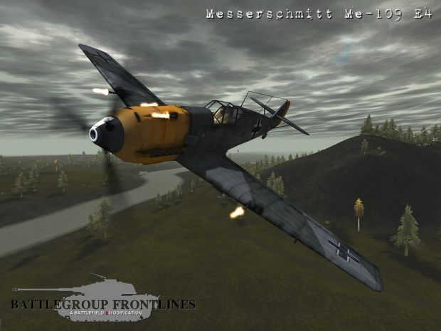 ME109 showing off all guns