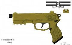 GDI handgun concept art