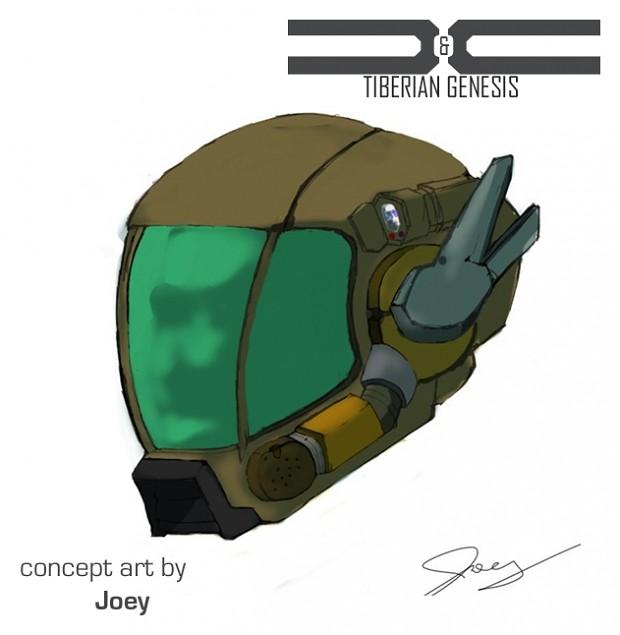 GDI infantry helmet