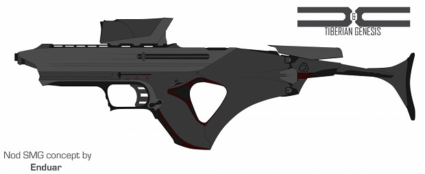 Nod SMG concept by Enduar