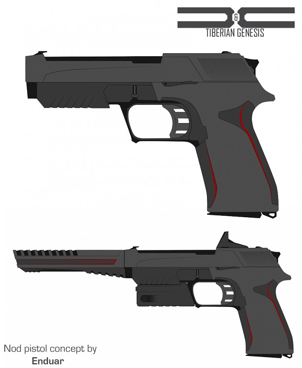 Nod pistol concept art 1