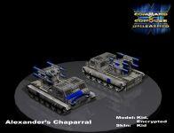 Media Render/Cameo of Chaparral for Alexander