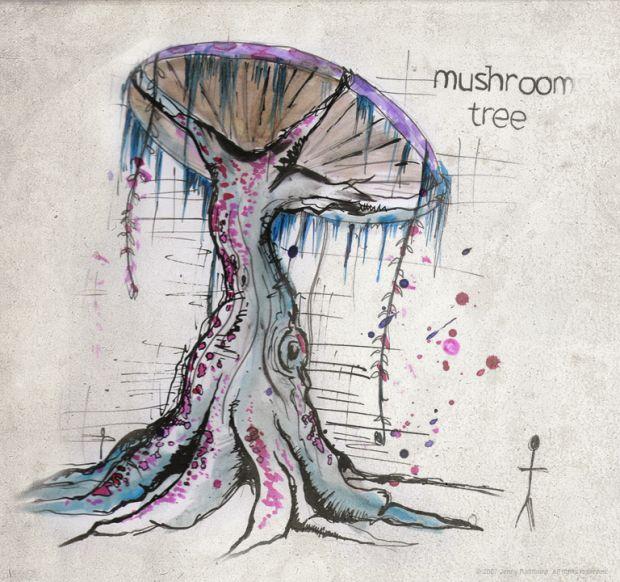 Giant Mushroom Tree.