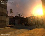 Abandoned industrialzone