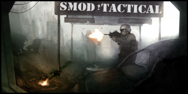 SMOD: Tactical, Drawing by Shakken