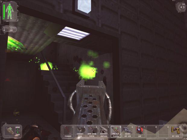 Plasma Rifle Alt-Fire