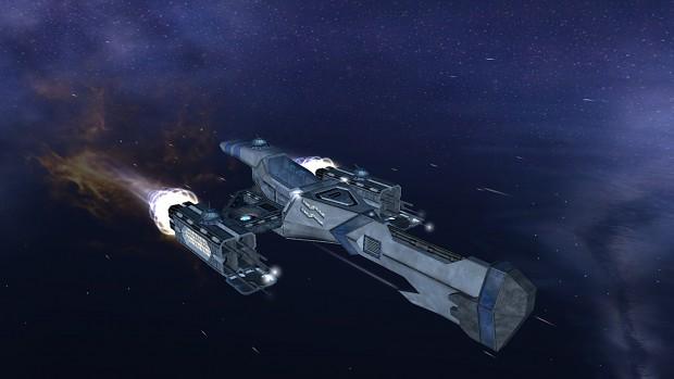 "LHX9-G8S ""Interloper"" Lane Hacker Gunship"