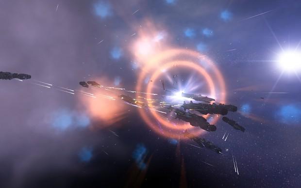Outcast Dreadnoughts vs the Liberty Navy!