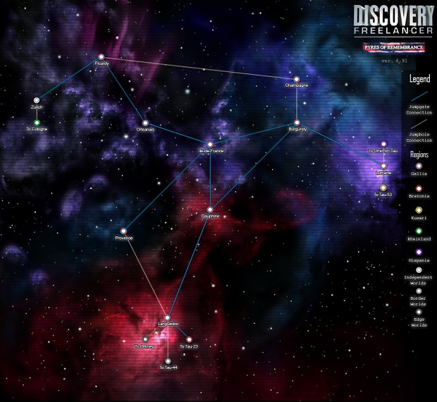 Discovery 4.91 Gallic Sector Map 2019