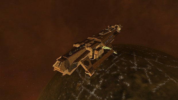 """Triumph"" Gallic Royal Navy Destroyer"
