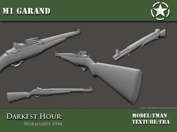 M1 Garand WIP