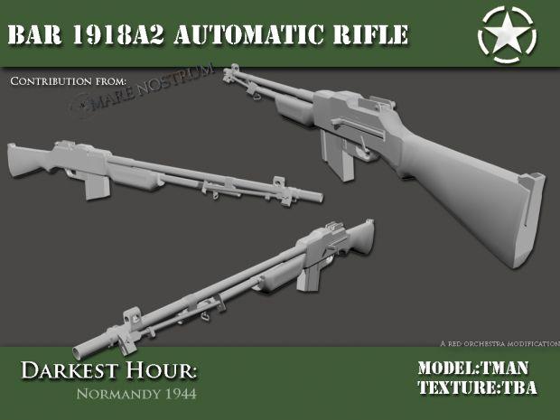 Bar 1918A1 Automatic rifle
