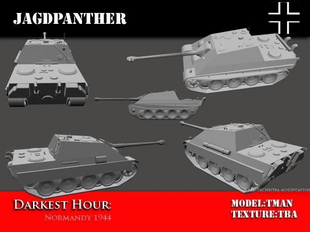 Jagdpanther W I P
