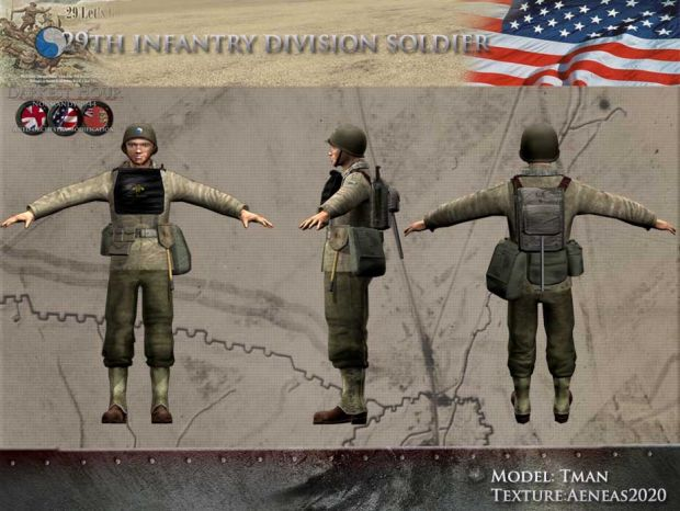 29th Infantry Division Soldier