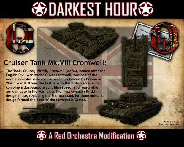 Cruiser Tank Mk. VIII Cromwell mk. IV