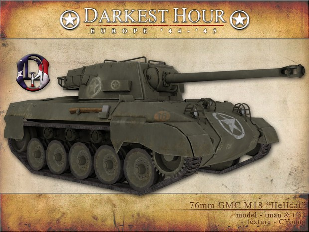 "76mm GMC M18 ""Hellcat"""