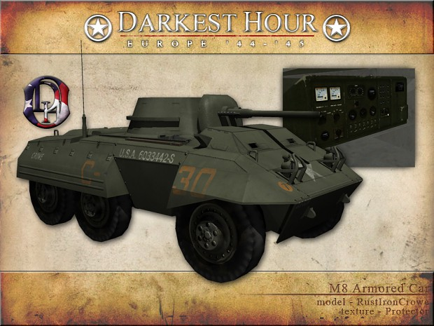 "M8 ""Greyhound"" Armored Car"