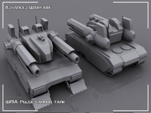 WMA Pulse Cannon tank